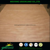 18mm Grooved Hardwood Coer, colle phénolique, Okume Film Faced Plywood