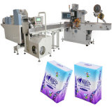Máquina de conversão de papel de tecido para máquina de embalagem de tecido de bolso