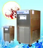 Machine à la glace douce 2 + 1 saveur tordue