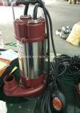 Bomba de água do aço inoxidável da série dos TERMAS para a água suja com interruptor de flutuador 1.1kw/1.5HP