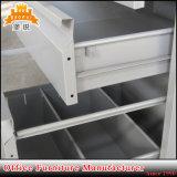 Gabinete de arquivamento móveis de metal móvel com 3 rodas com rodas