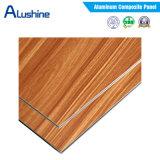 El mejor precio para el panel compuesto de aluminio de la hoja de la capa ACP del PE (1220*2440*3m m)