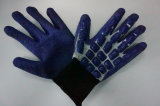 T-/Cshell-Windung-Latex beschichtete Sicherheits-Arbeits-Handschuhe (L9100)