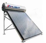 Integrado pressurizado placa lisa de aquecimento solar de água
