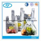 食料雑貨およびスーパーマーケットのためのプラスチックTシャツのショッピング・バッグ