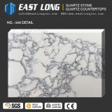 Big dalle veine de marbre pierre artificielle pour les comptoirs de quartz