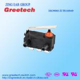 Zingear ha sigillato il mini micro interruttore impermeabile nero con RoHS e l'UL