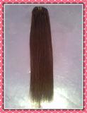 """Prolonge réelle de cheveu de Remy de la qualité 100% d'armure de la meilleure qualité de cheveux humains Clip-dans des extensions de cheveu directement 20 """" Color#4, 8PCS /Set"""