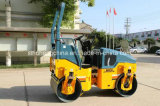 2000kg 두 배 드럼 진동하는 도로 롤러 쓰레기 압축 분쇄기 Jm802h