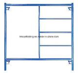 Andamio revestido del marco del medio de la escala Q235 del masón polvo de la alta calidad