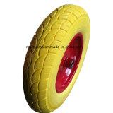 손 깔판 트럭 고무 바퀴 소형 고무 바퀴