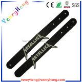 Wristband di gomma su ordinazione del PVC 3D per i punti promozionali