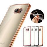 Dorados chapado de TPU para Samsung S7