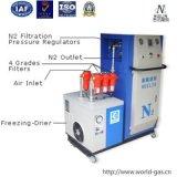 Machine de conditionnement des aliments avec de l'azote