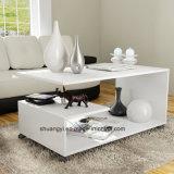 Tavolino da salotto di bianco di disegno moderno della mobilia del salone
