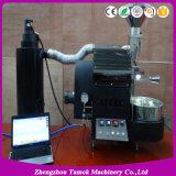 Minikaffee-Bratmaschinen-Ausgangskaffeeröster des Gas-1kg