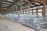 Canal U en acier galvanisé pour la construction