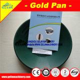 Pan van de Was van het Zand van de rivier de Plastic Gouden Pan, Gouden