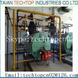 Chaudière à eau chaude chauffée au gaz à la production de céramique