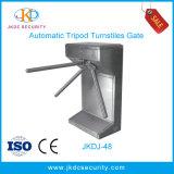 ステンレス鋼のRFIDのアクセス制御システムが付いている自動三脚の回転木戸