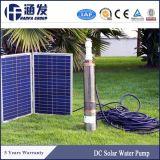 Bomba de água solar do poço profundo da irrigação para o poço do furo