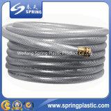 형식 녹색 PVC는 정원/물/강화한 호스를 강화했다