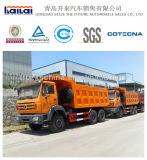 380HP Beiben Ng80b鉱山のダンプのダンプカートラック