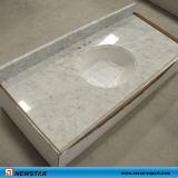 Countertop van Carrara van Bianco Witte Marmeren
