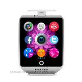 2017 Telefoon van het Horloge van de Manier de Slimme met de Groef van de Kaart SIM Q18