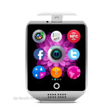 2017 Mobile-Armbanduhr Bluetooth intelligente Uhr mit SIM Karte-Schlitz Q18