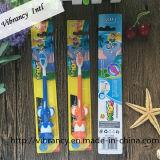 De calidad superior del niño succión Cepillo de dientes con goma suave de dibujos animados del cepillo de dientes de elefante