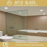 3/8 '' Frameless zwei Löcher und zwei Scharnier-Kerben, die freie /Glass-Tür-ausgeglichenes Glas des ausgeglichenen Glases mit Cer und SGCC reiben