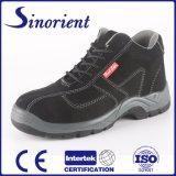 Carregadores de couro da segurança das sapatas de segurança da camurça para a indústria pesada RS6139