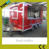 Масса буксируемого оборудования мобильных продуктов на кухне прицепа