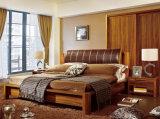 Camas modernas da cama de madeira contínua (M-X2230)