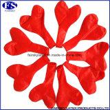 Kundenspezifische rote Herzform Helium gefüllte Ballons in Latex
