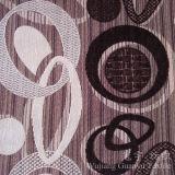 El patrón de círculo de Poliéster hilado teñido de chenilla