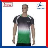 A tintura veste o Sportswear impresso t-shirt do t-shirt do Sublimation