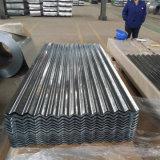 Dx51d PPGI galvanizado revestido a cor da folha de aço corrugado para coberturas