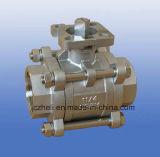 De kogelklep van het Ce- Certificaat CF8m 2PC Met het Apparaat van het Slot