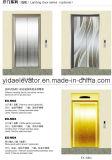 Lo specchio di FUJI ha inciso l'elevatore del passeggero dell'acciaio inossidabile (JQ-B012)