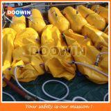 Test de charge de 400 kg de poids de l'eau sac pour le canot de sauvetage