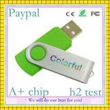 Full Capacity USB Flash Driver 256 GB Swivel Flash Drive (GC-U003)