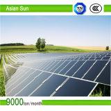 Sistema solare al suolo del montaggio, struttura di montaggio di PV della parentesi del comitato solare di C-Steel/Stents fotovoltaico