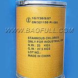Het droge Gas van het Chloride van de Waterstof op het TinChloride Sncl2 van het Metaal van het Tin