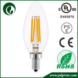 Bulbo del filamento LED del grado 2With4With6W de E14 C35 Dimmable 360