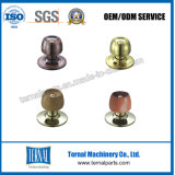 Bloqueo de madera cilíndrico de la perilla de puerta de la buena calidad (5831)