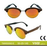 Moda óculos de sol de madeira com alta qualidade (592-A)