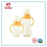 BPA освобождают стандартные бутылки младенца шеи PPSU с мягкой ниппелью