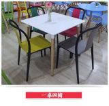 Großverkauf verschachtelt, Stuhl-Gaststätte-Plastikstuhl speisend